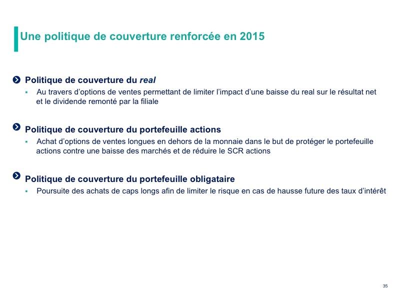 Solvabilité 2 : un taux de couverture de 192 % à fin 2015