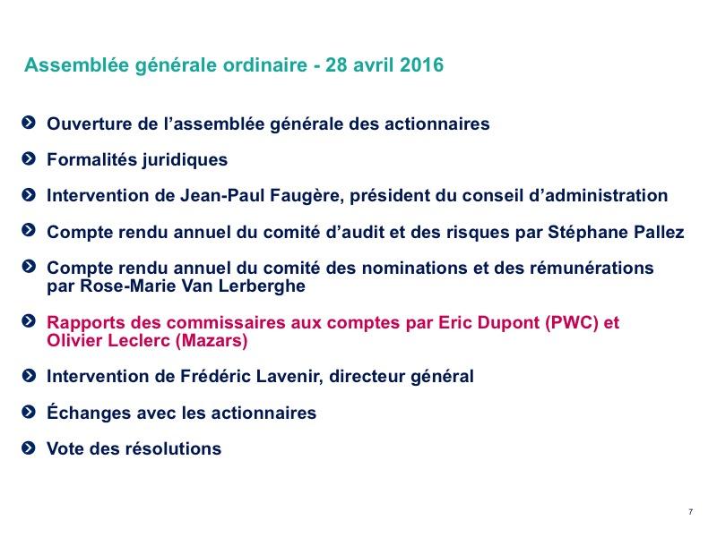 <b>Rapports des commissaires aux comptes</b>