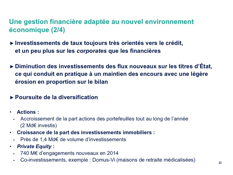 Une gestion financière adaptée au nouvel environnement économique (2/4)