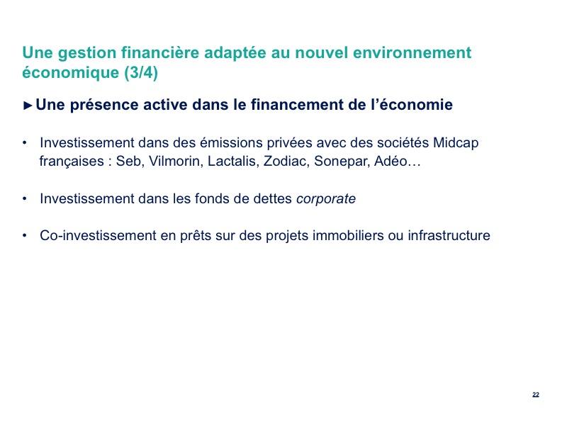 Une gestion financière adaptée au nouvel environnement économique (3/4)