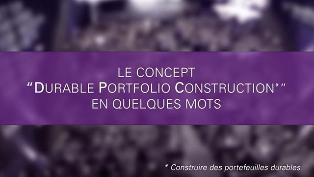 Durable Portfolio Construction Symposium