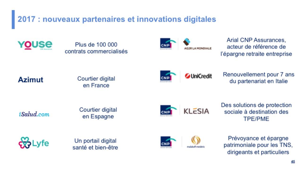 2017 : nouveaux partenaires et innovations digitales