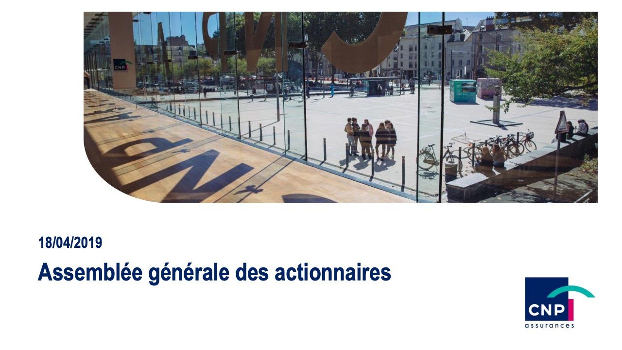 <b>Assemblée générale des actionnaires</b>